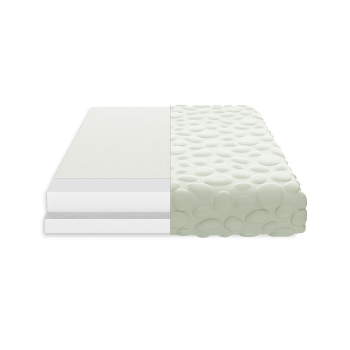 Nook Sleep Systems Air Lightweight Crib Mattress With Cloud Pebble Cover
