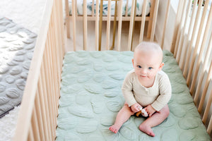 Nook Sleep Systems Air Lightweight Crib Mattress With Sea Glass Pebble Cover