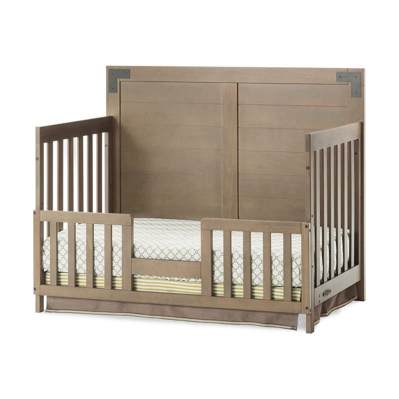 Child Craft Lucas 4-in-1 Convertible Baby Crib in Dusty Heather