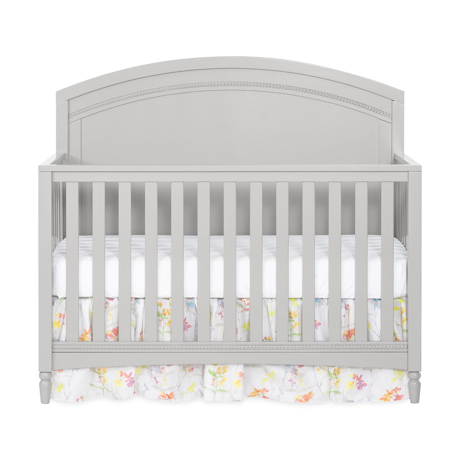 Child Craft Stella 4-in-1 Convertible Baby Crib in Gentle Gray