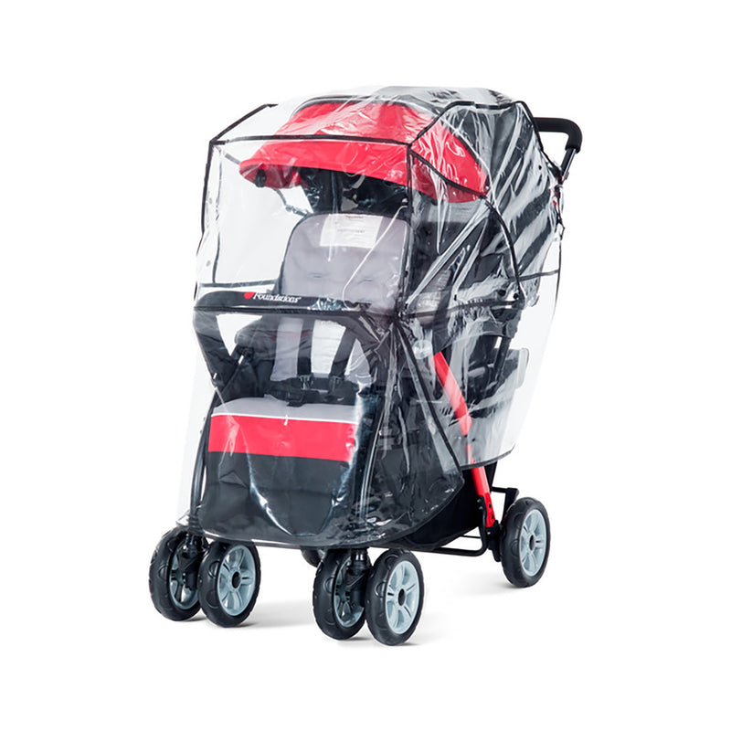 Foundations Duo Sport Stroller Rain Cover