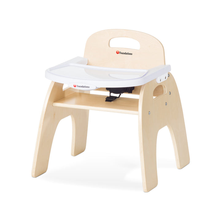 "Foundations Easy Serve Ultra-Efficient Child Care Feeding Chair - 11"" Seat Height"
