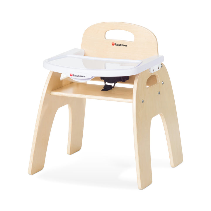 "Foundations Easy Serve Ultra-Efficient Child Care Feeding Chair - 13"" Seat Height"