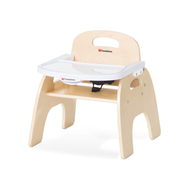 "Foundations Easy Serve Ultra-Efficient Child Care Feeding Chair - 9"" Seat Height"