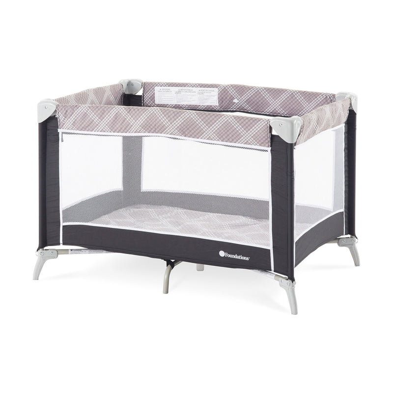 Foundations Sleep n Store Travel Yard with Bassinet