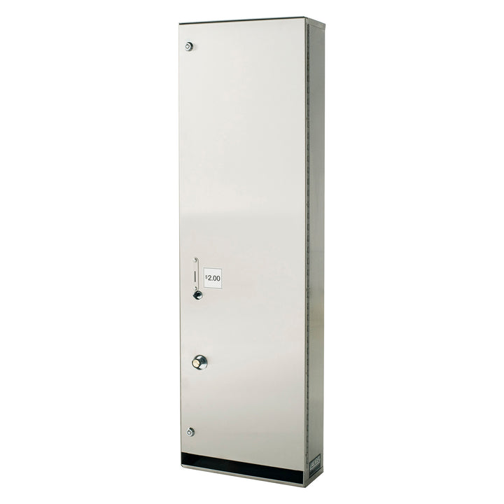 Foundations Stainless Steel Public Washroom Diaper Vendor