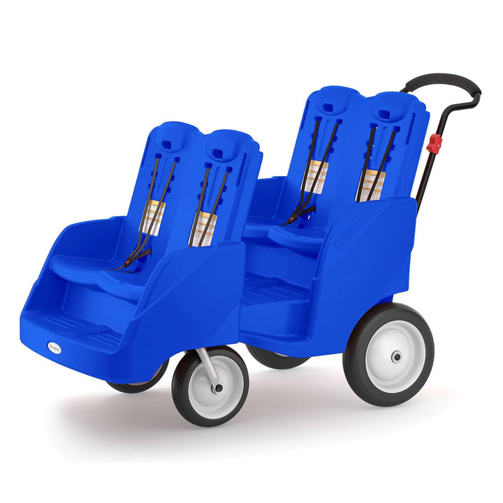 Gaggle Parade4 Multi-Passenger Blue Buggy by Foundations