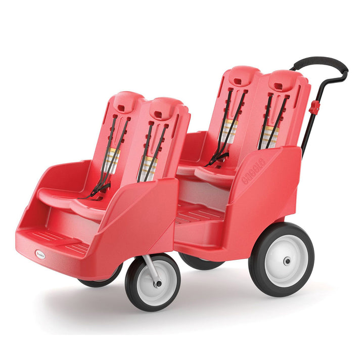 Gaggle Parade 4 Multi-Passenger Red Buggy by Foundations