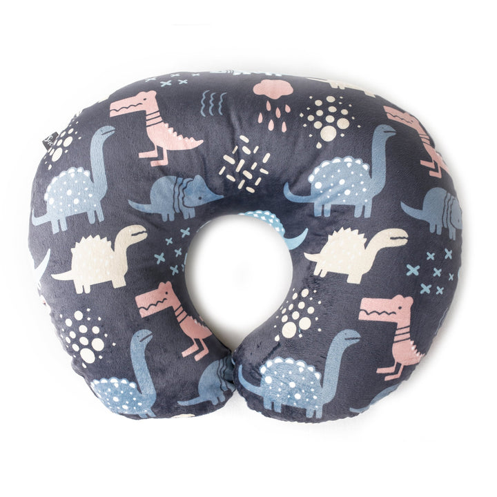 Kids N' Such Minky Nursing Pillow Cover - Dinosaurs Pattern Slipcover