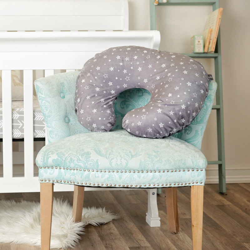 Kids N' Such Minky Nursing Pillow Cover - Stars Pattern Slipcover