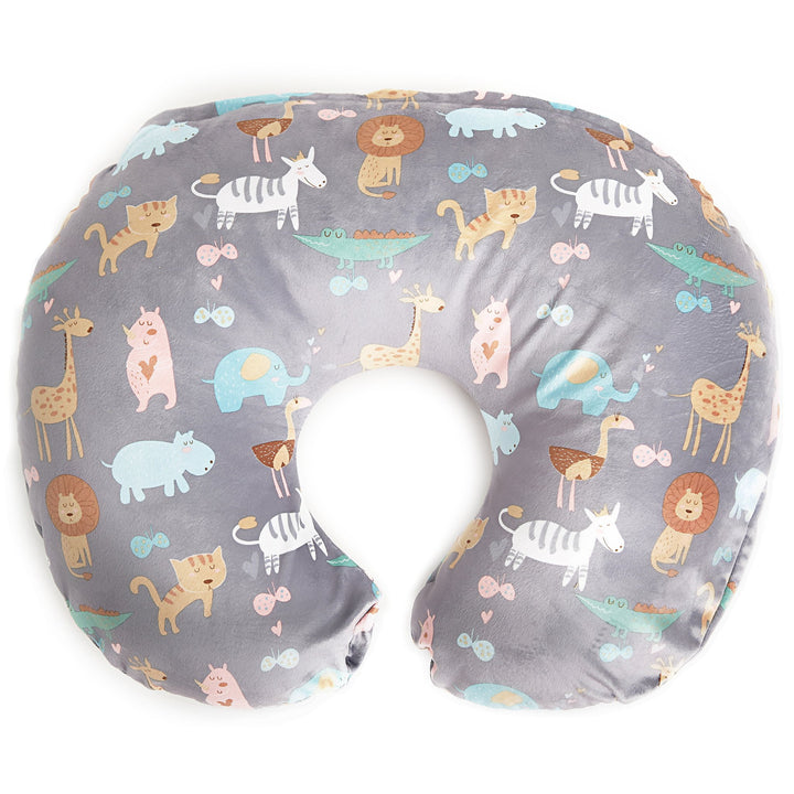 Kids N' Such Minky Nursing Pillow Cover - Jungle Pattern Slipcover