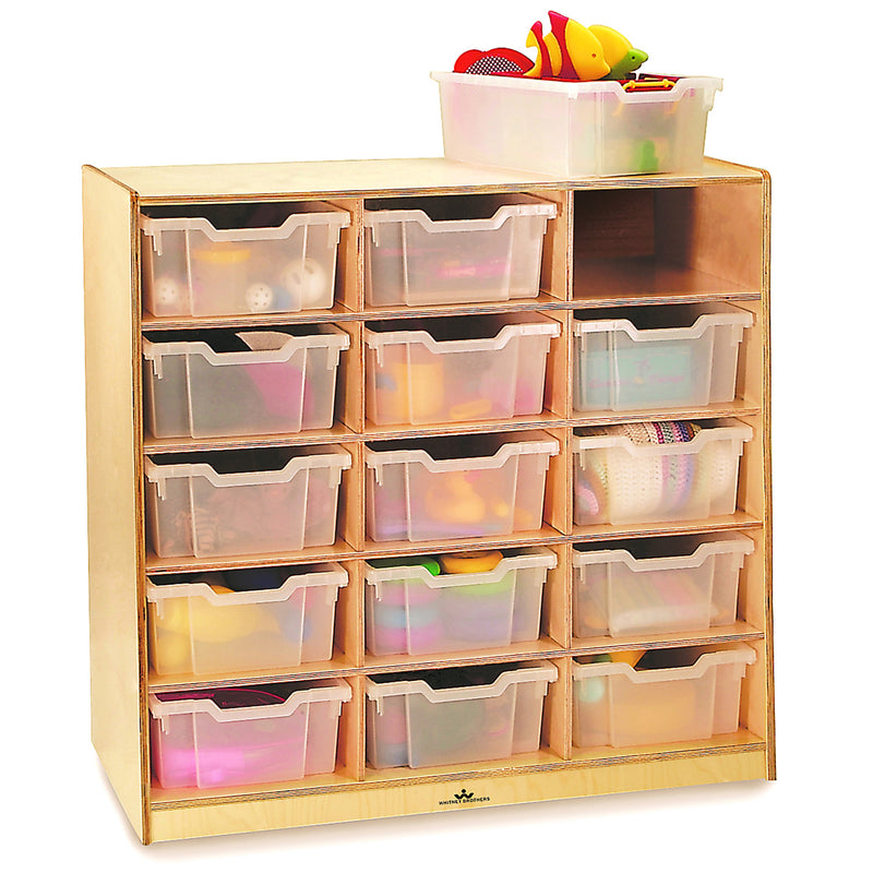 Whitney Brothers 15 Tray Storage Cabinet