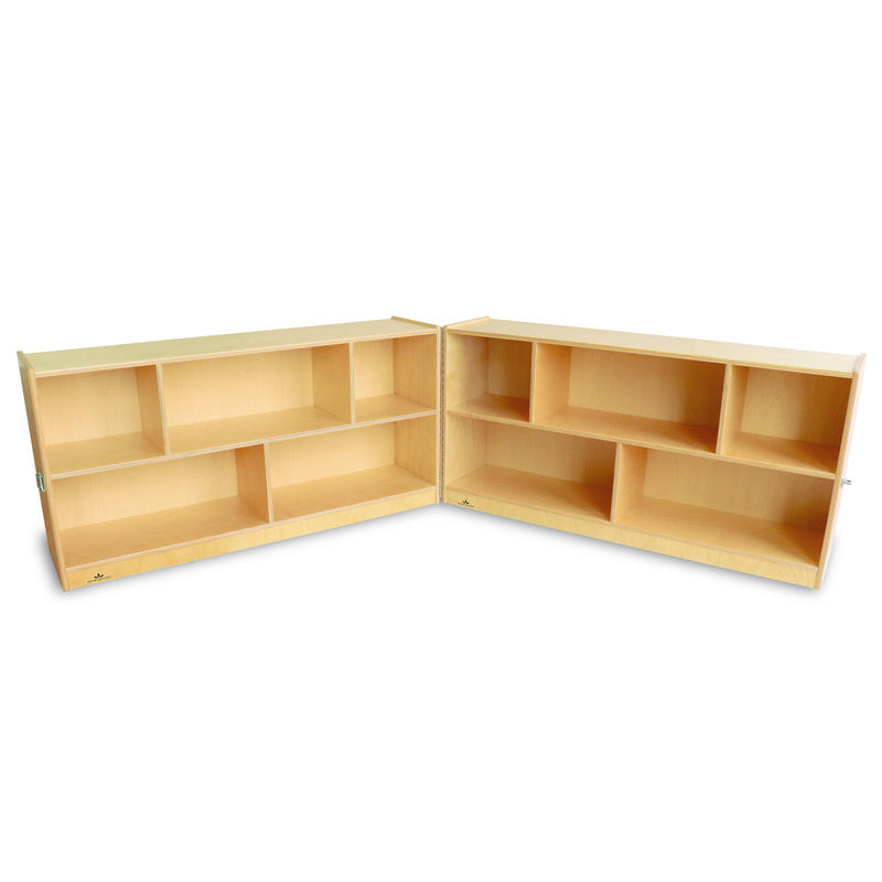 Whitney Brothers Fold And Roll Storage Cabinet 24H