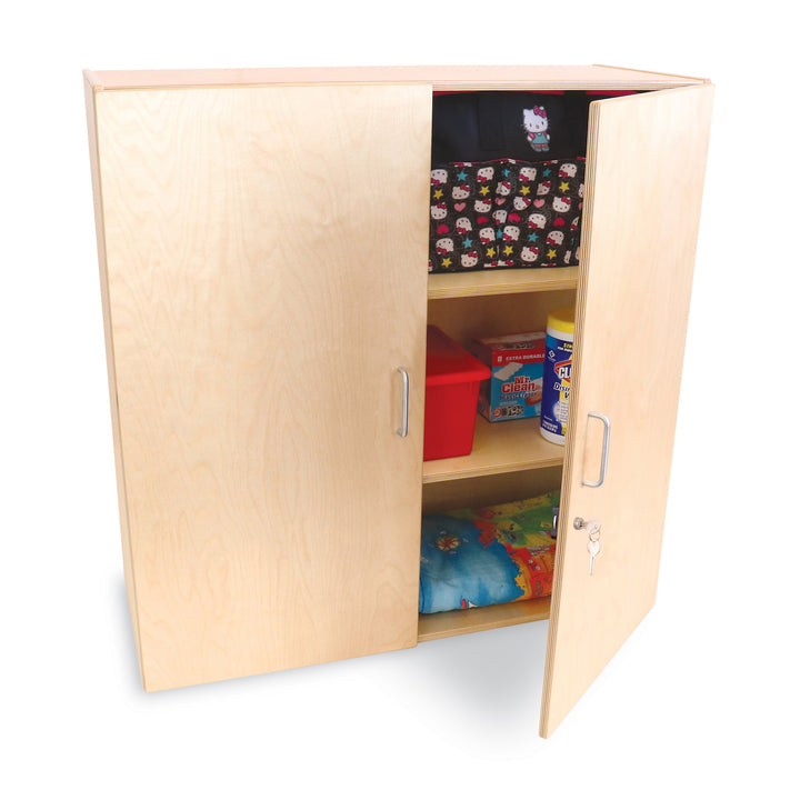 Whitney Brothers Lockable Wall Mounted Cabinet