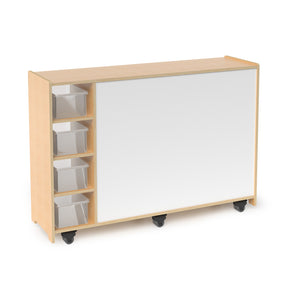 Whitney Brothers Magnetic Write And Wipe Mobile Cabinet