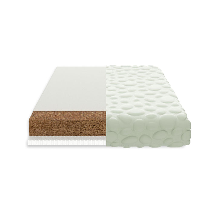 Nook Sleep Systems Pure Organic Crib Mattress With Cloud Pebble Cover
