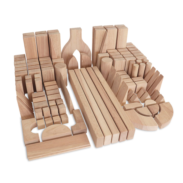 Whitney Brothers 118 Piece Intermediate Block Set