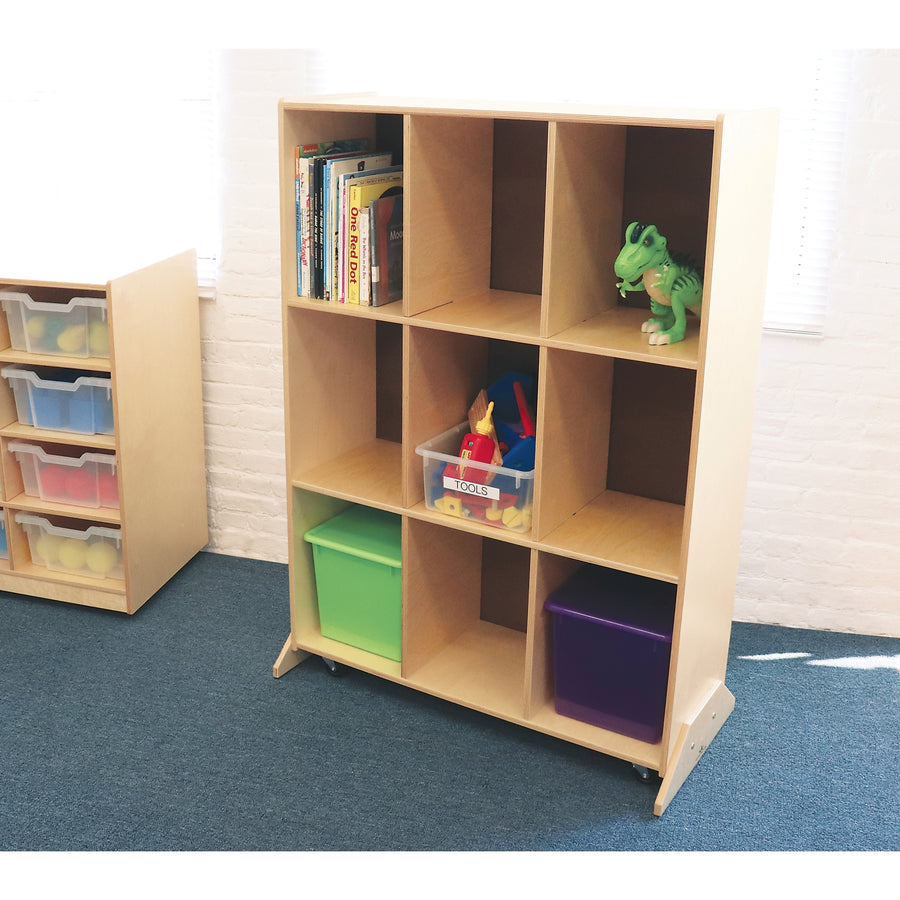 Whitney Brothers 9 Cubby Storage And Teaching Center