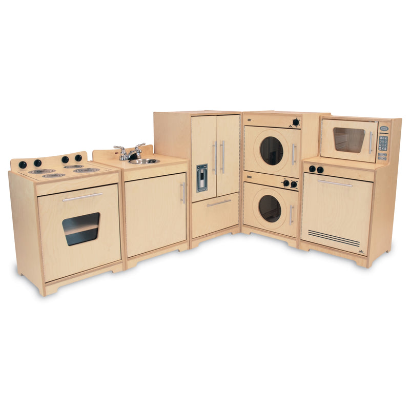 Whitney Brothers Contemporary Kids Play Kitchen Set - Natural