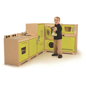Whitney Brothers Kids Play Contemporary Kitchen Set
