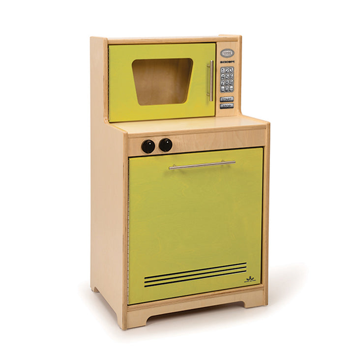 Whitney Brothers Contemporary Kids Play Microwave and Dishwasher