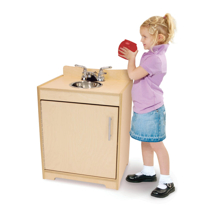 Whitney Brothers Contemporary Kids Play Sink - Natural