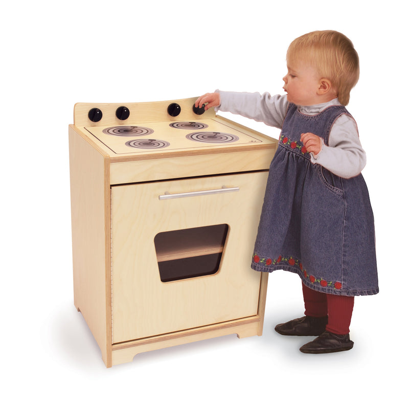 Whitney Brothers Contemporary Kids Play Stove - Natural