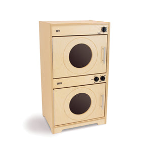 Whitney Brothers Contemporary Kids Play Washer And Dryer - Natural