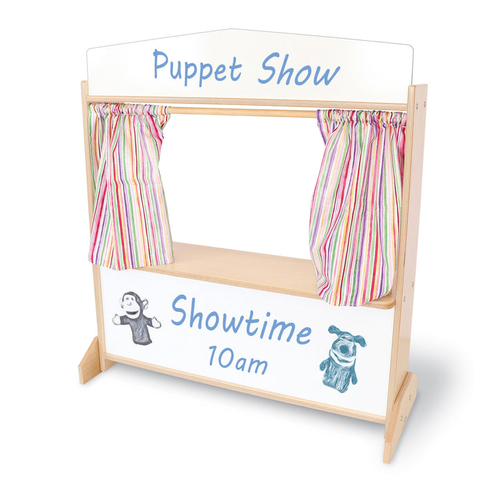 Whitney Brothers Deluxe Puppet Theater With Markerboard