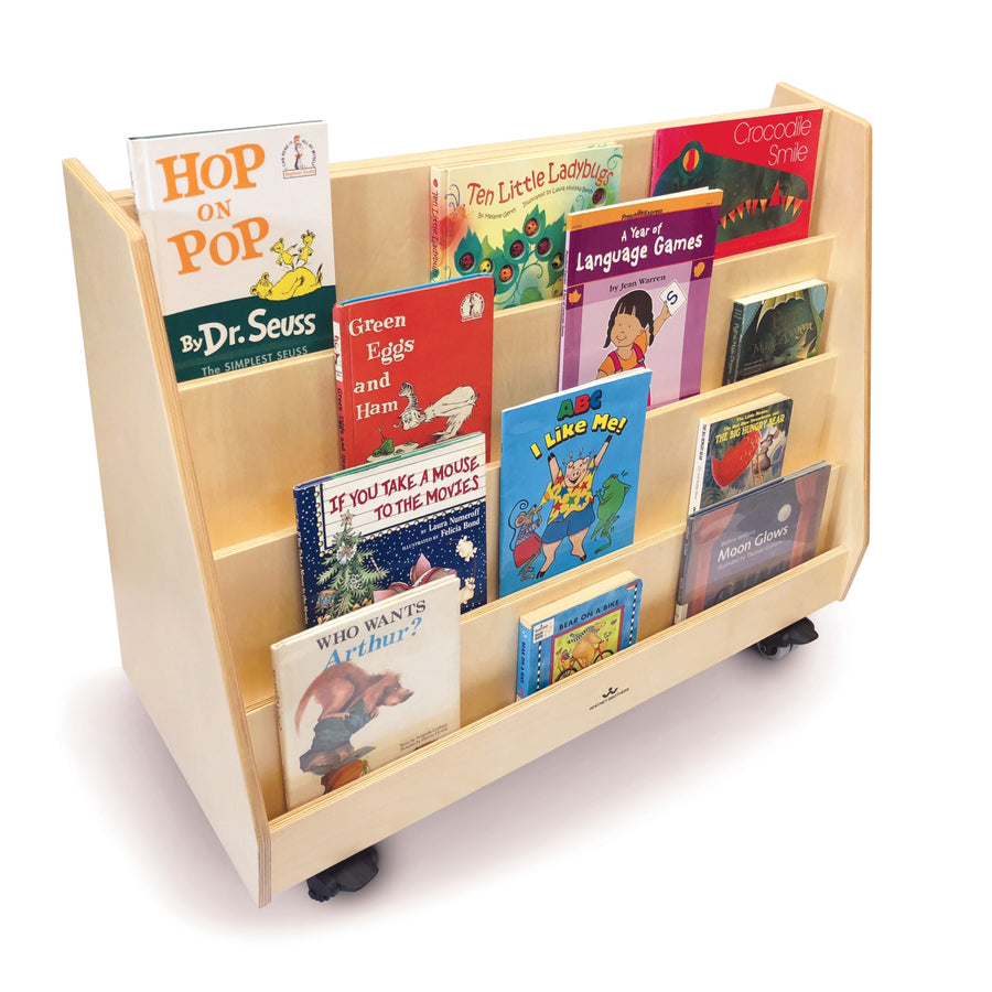 Whitney Brothers Deluxe Two Sided Mobile Book Display