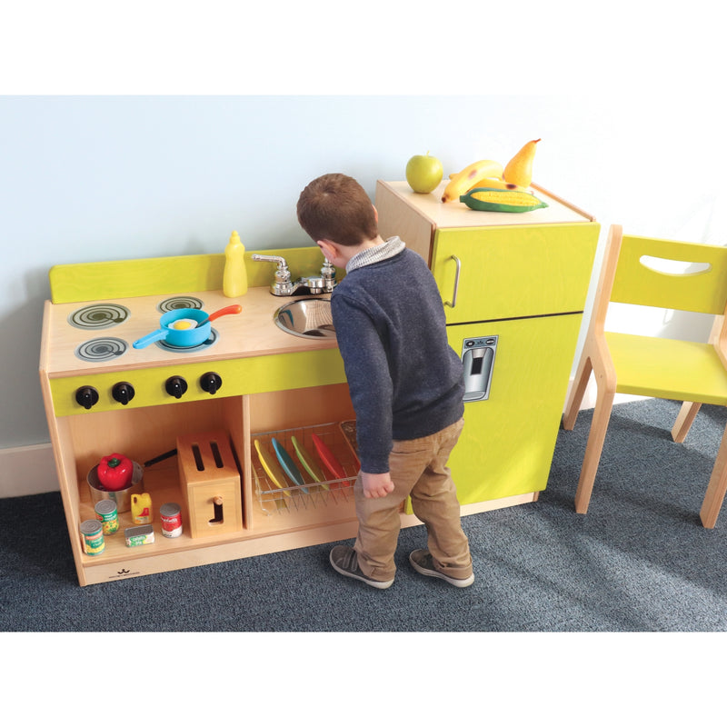 Whitney Brothers Let's Play Toddler Kitchen Combo
