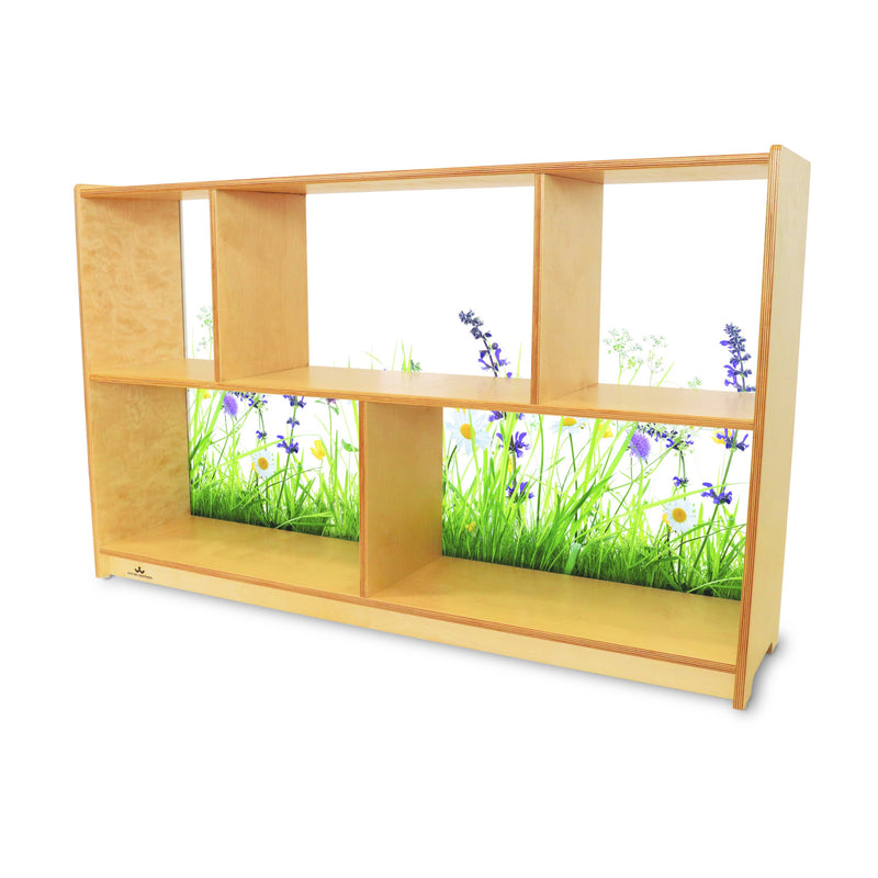 Whitney Brothers Nature View Acrylic Back Cabinet 30H