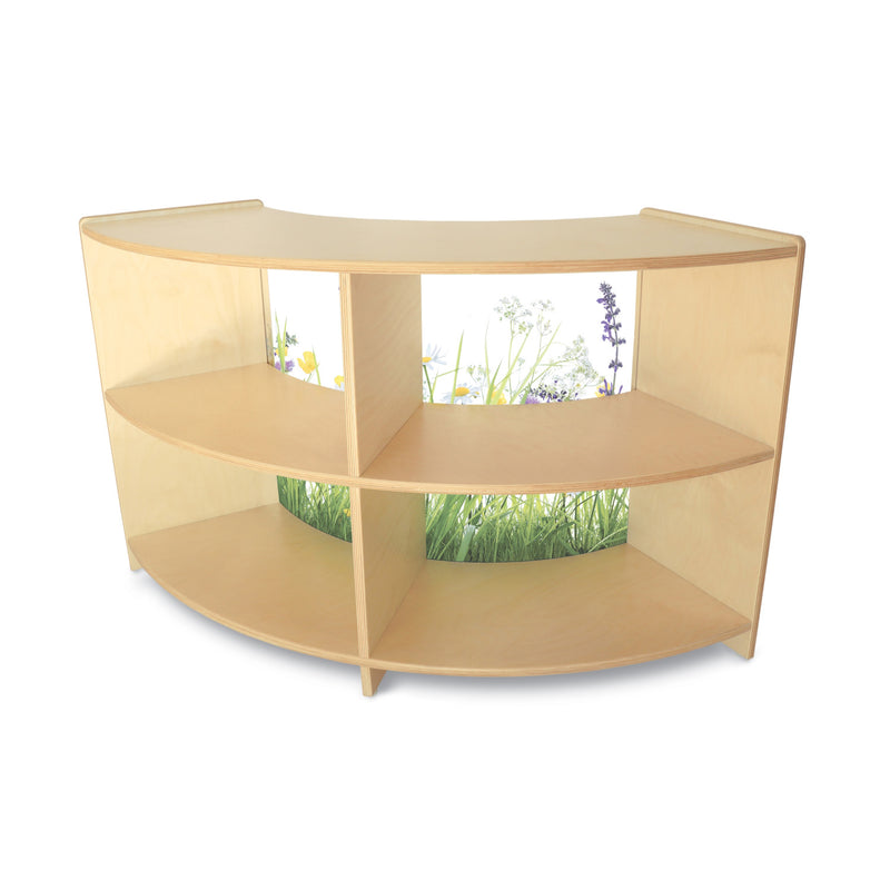 Whitney Brothers Nature View Curve In Cabinet 24H