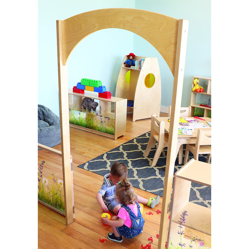 Whitney Brothers Nature View Room Divider Archway