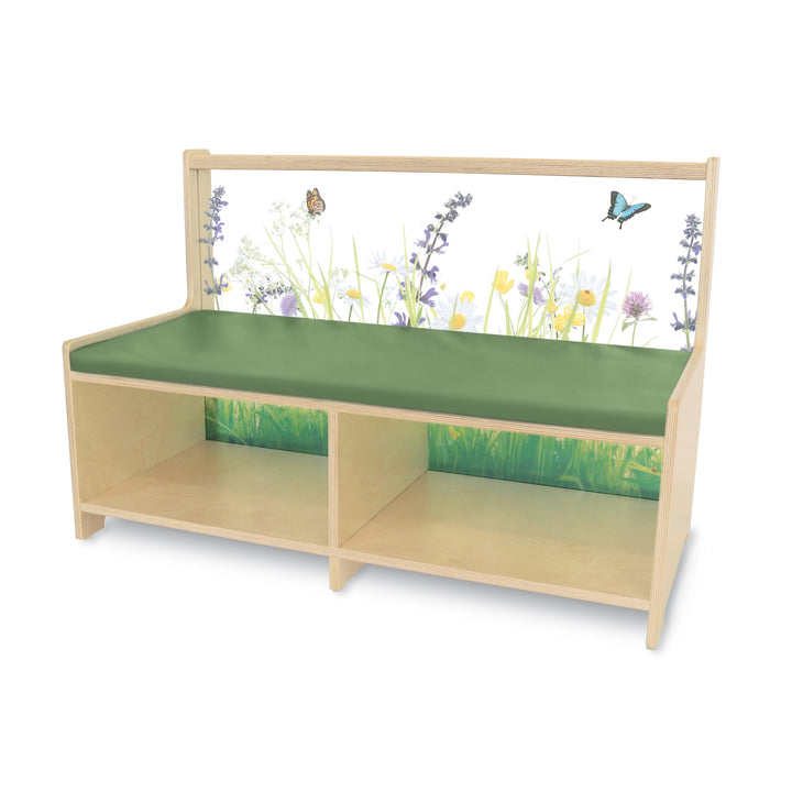Whitney Brothers Nature View Straight Sofa