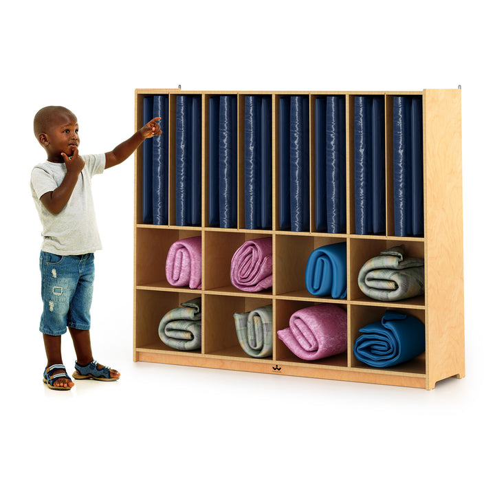 Whitney Brothers Rest Mat Storage Cabinet