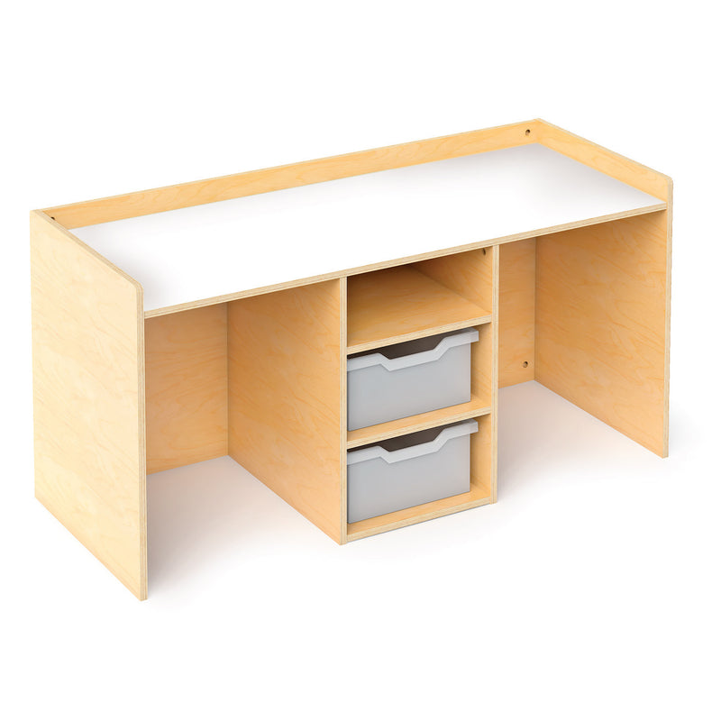 Whitney Brothers Stem Activity Desk with Trays