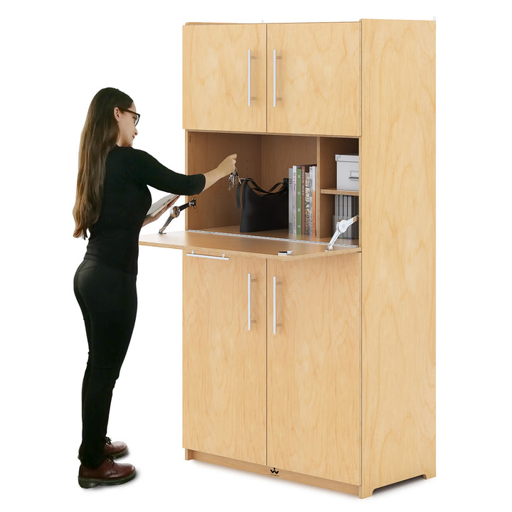 Whitney Brothers Teachers Work Station Cabinet
