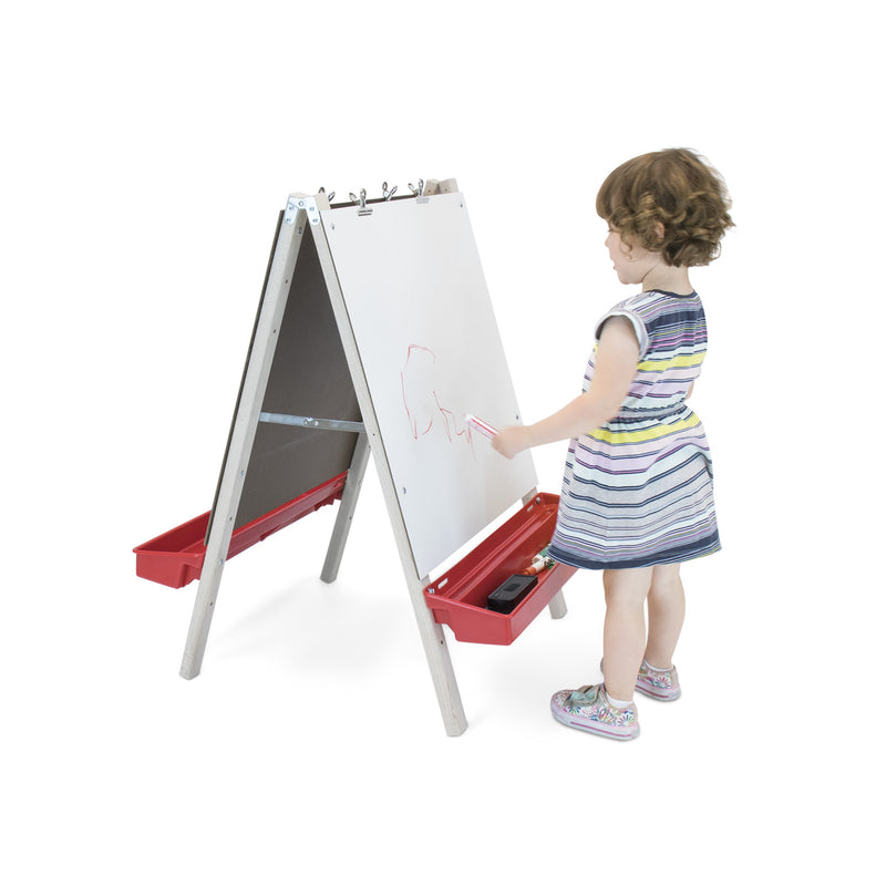 Whitney Brothers Toddler Adjustable Easel Marker Board