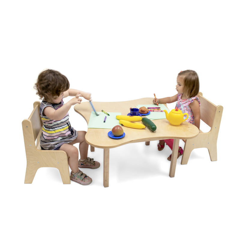 Whitney Brothers Toddler Flower Table 15H