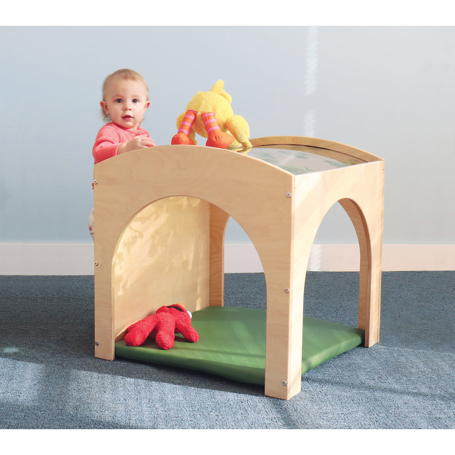 Whitney Brothers Toddler Nature Read Retreat With Mat Set