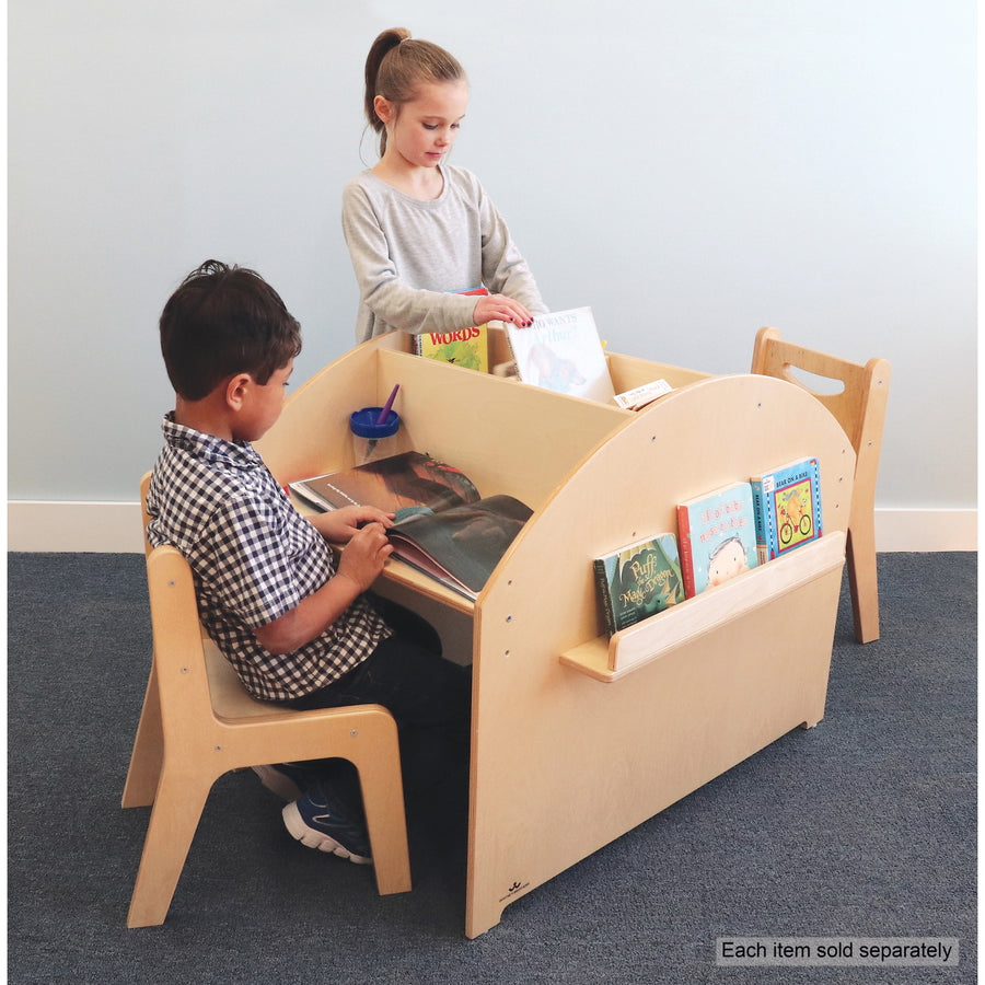 Whitney Brothers Two Student Adjustable Library Desk