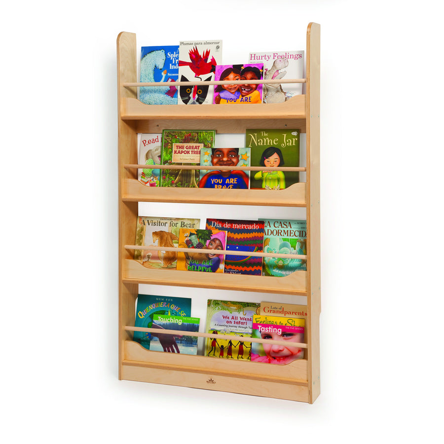 Whitney Brothers Wall Mounted Book Shelf
