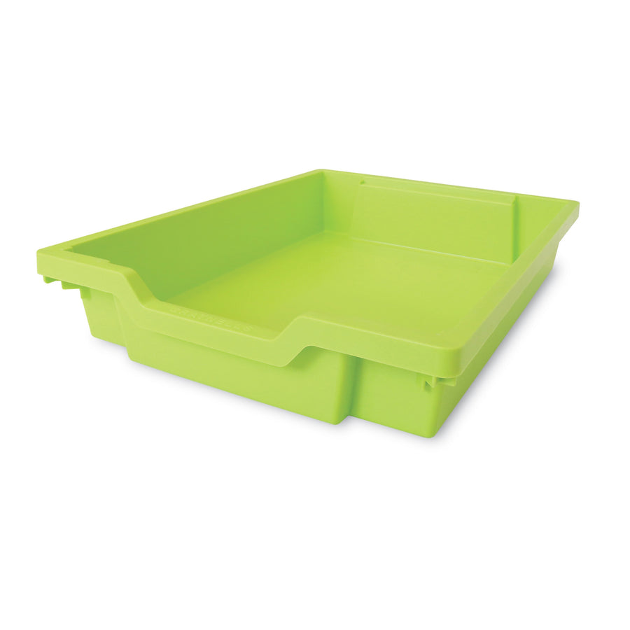 Whitney Plus F1 Gratnell Plastic Tray Lime Green