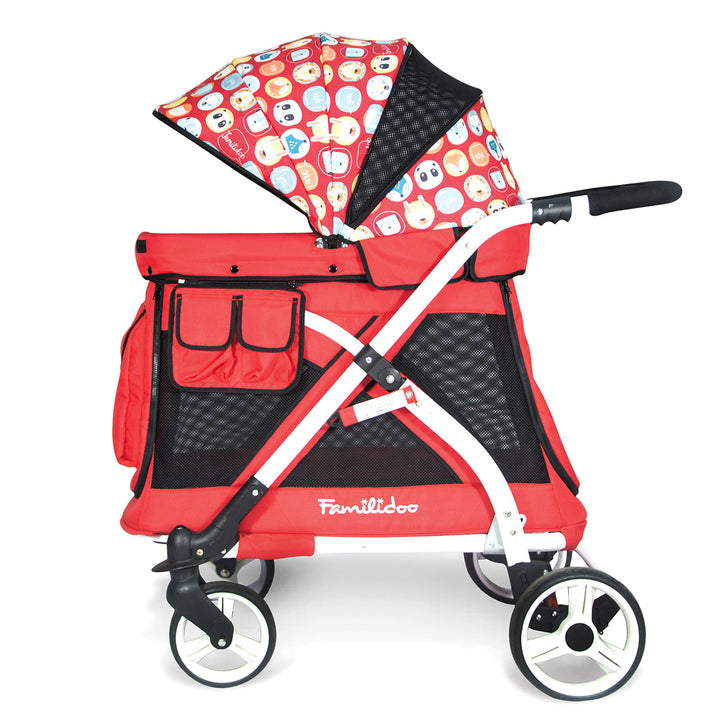 Wonderfold MJ01 Chariot Mini Single Stroller Wagon - 1 Seater