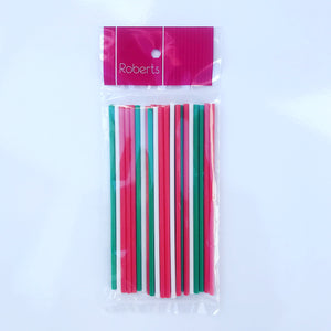 Lolly Sticks - Christmas Colour Mix