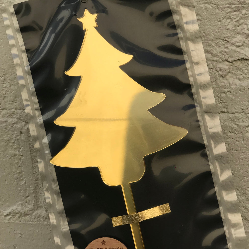 Elite Design 'Christmas Tree' - Gold, Silver or Rose Gold Mirror