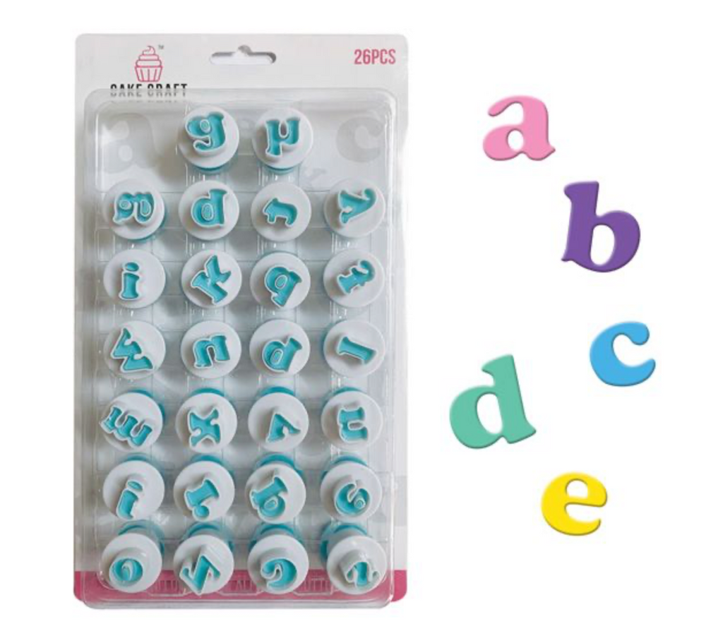 Mini Alphabet & Number Cutters