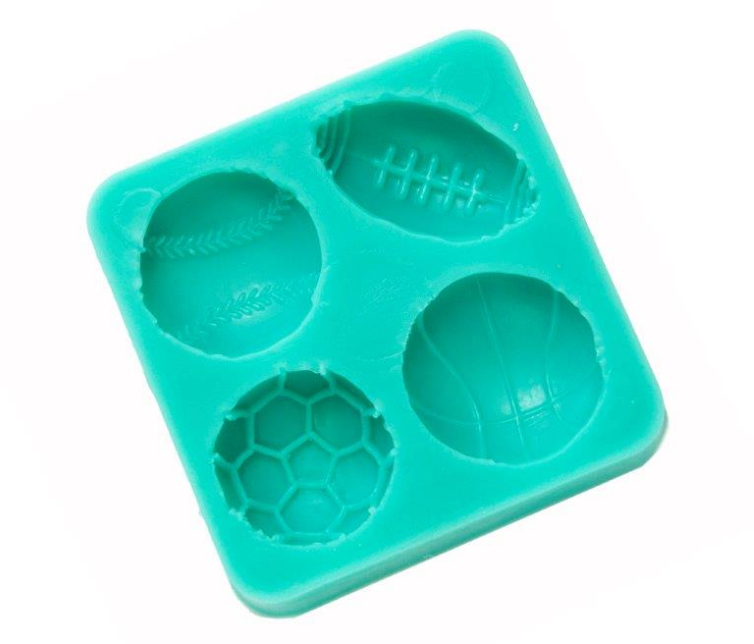 Load image into Gallery viewer, Sports Balls Silicone Mould