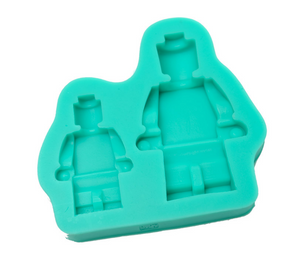 Small & Large Lego Man Silicone Mould